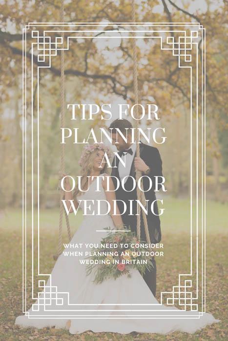 Outdoor weddings in the uk