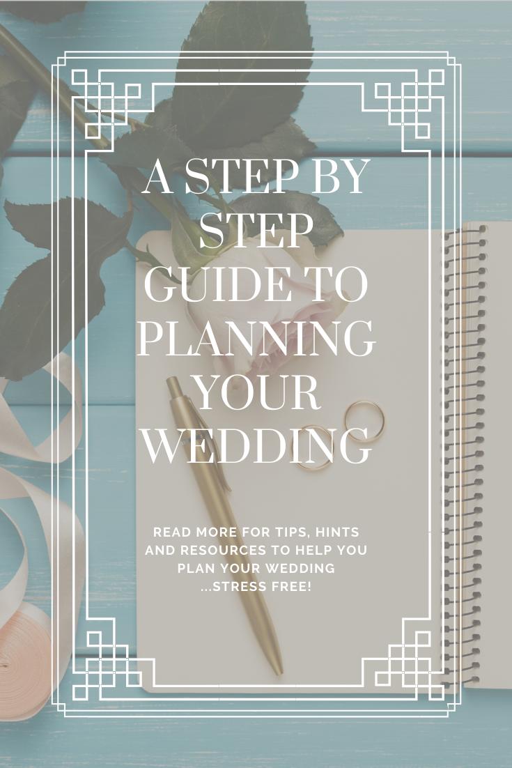 Step by Step wedding list