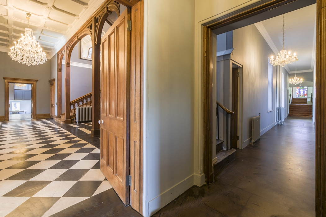 Corridor to Chapel