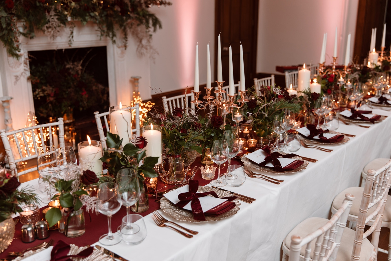 Festive Table Set-up