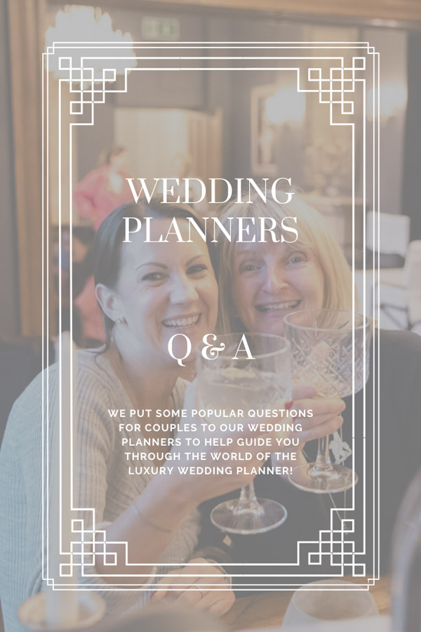 Wedding Planners Q&A